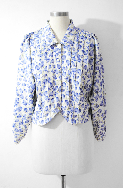Japan Vintage Blouse, Tulip Blouse