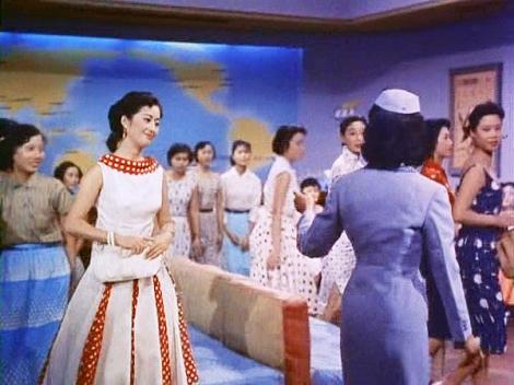 50s Vintage Air Vintage Hostess Movie Hong Kong