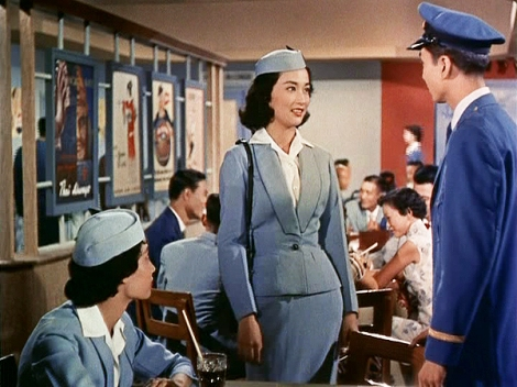 50s Vintage Air Hostess Movie Hong Kong