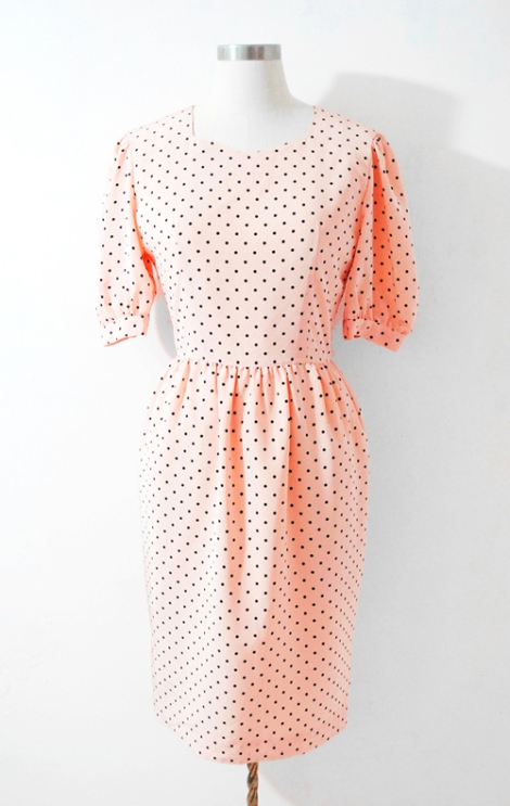 Japnese vintage dress by ColourFreakVintage